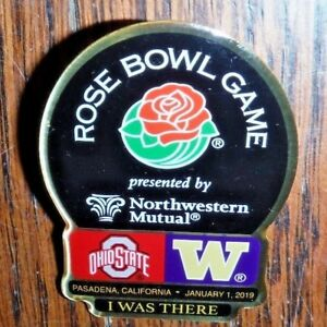 b3616a00d1da 2019 ROSE BOWL DUELING OHIO STATE VS. WASHINGTON I WAS THERE PIN ...