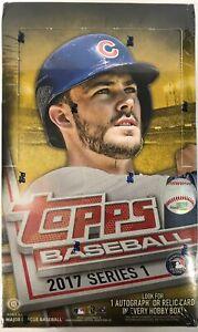 2017-Topps-Series-1-Baseball-Factory-Sealed-Hobby-Box