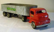 Early Tonka Toys Ford COE Cab GRAIN HAULER TT Truck 50's V RARE NICE ORIGINAL