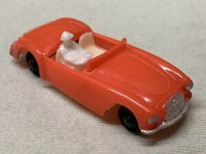Vintage-1960-Blue-Box-MGA-Convertible-Car-w-Driver-7422-Red-Plastic-Hong-Kong