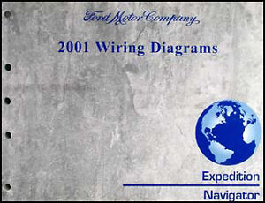 2002 Ford Expedition Lincoln Navigator Wiring Diagram Original Electrical Manual Ebay