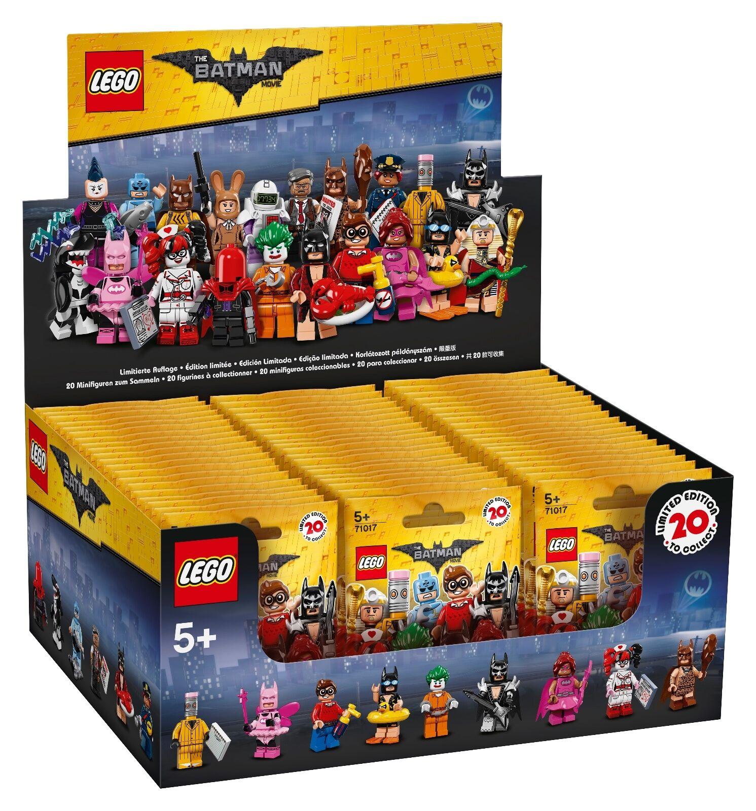 LEGO® THE LEGO® BATMAN MOVIE 71017 Minifigures NEU OVP NEW MISB NRFB