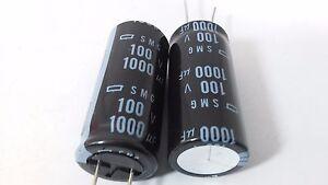 25 pcs Radial Electrolytic Capacitor RPE80V102MV2 ELNA 1000uF 80V 85*c