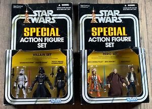 Star-Wars-Set-Of-Kenner-2010-Action-Figure-Sets-Hero-Set-And-Villain-Set-Lot