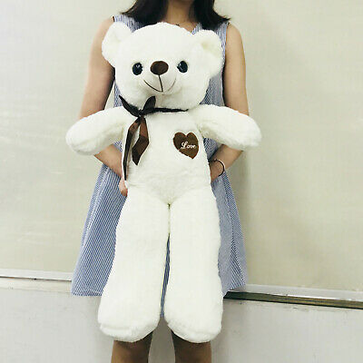 60CM Giant Big Plush Stuffed Teddy Bear Huge Soft 100/% Cotton Toy Best Xmas Gift