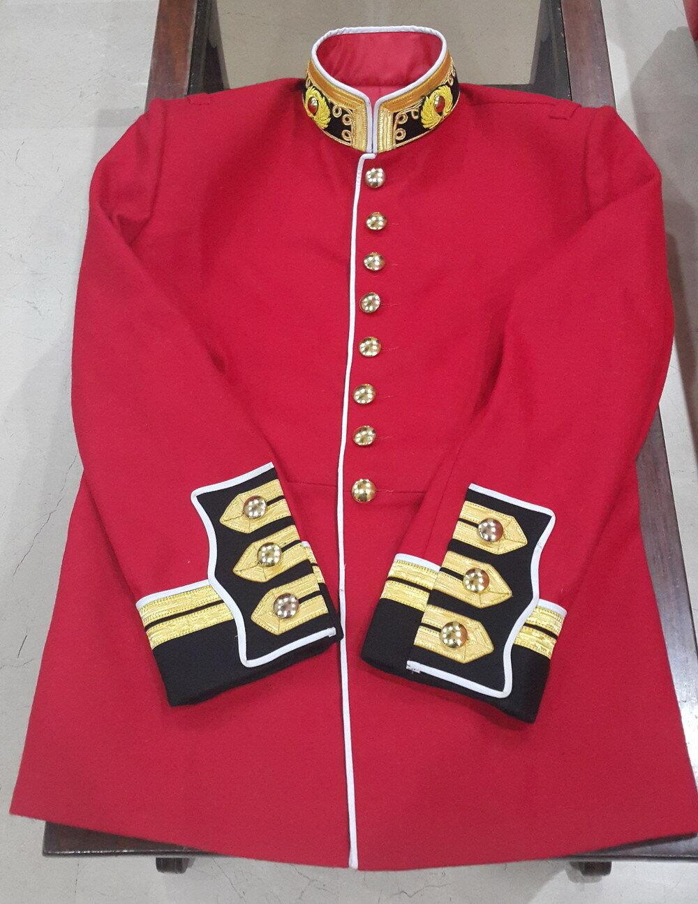 Royal marines light infantry tunic Victorian royal uniform