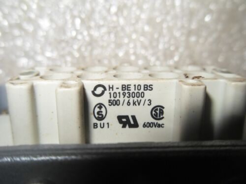 Rr15-1 Contact Electronics H-Be 10 Bs 10193000 600Vac Connector