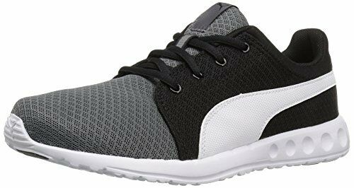 PUMA Carson Runner 400 Mesh Jr Running Shoes 5 Steel Gray-puma White Youth  Boys | eBay