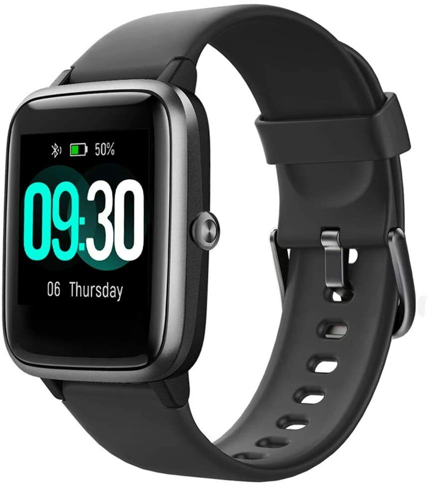 Smart Watch for Android and iOS IP68 Fitness Tracker Heart Rate Monitor