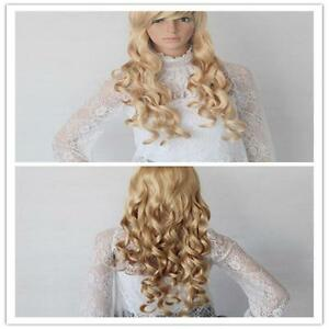 Women-Long-Curly-Slightly-Wavy-Hair-Lady-Full-Gold-Wig-Lolita-Wigs-Cosplay-GT-GT