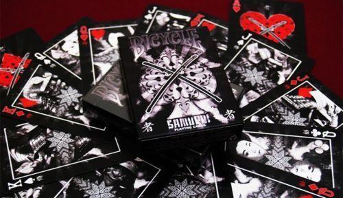 Samurai V2 Playing Cards Deck Brand New