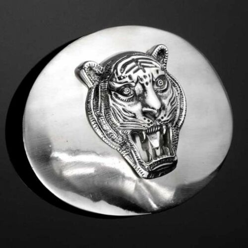 IN 3D Buckle Large And Heavy Predator Belt Buckle Tiger Tiger
