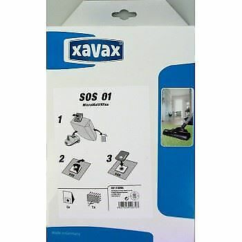 Xavax 00110096 Pack of  Universal Vacuum Bags with Filter