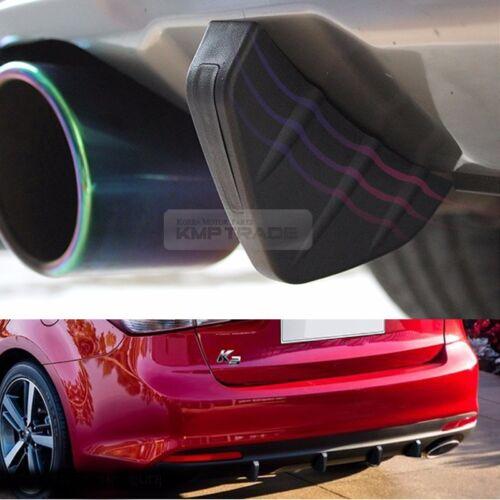 Bumper Diffuser Molding Point Garnish Lip Under Splitter Black for CHEVROLET Car