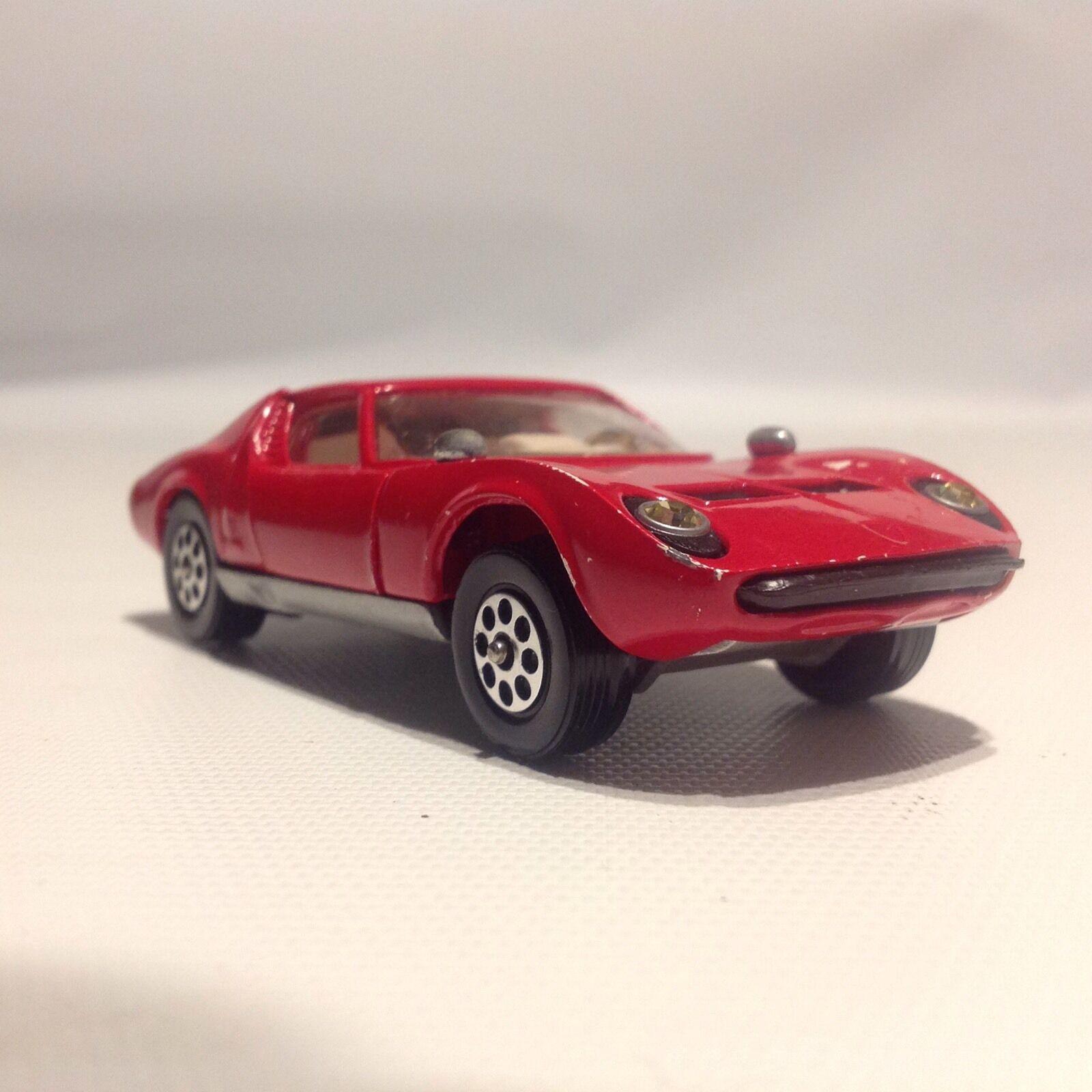 Corgi Toys LAMBORGHINI MIURA P400 Red Car