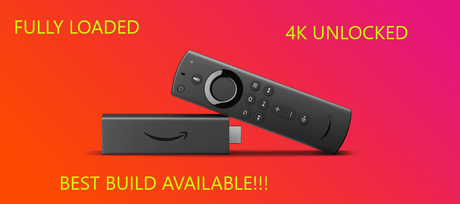 🔥📺FULLY LOADED📺🔥 Fire Stick 4K Alexa Voice Best Build Unlocked NEW. Available Now for 109.99