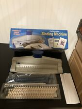 Platform Plus Binding Machine For Scrapbooking Reports Amp More Up To 100 Sheets