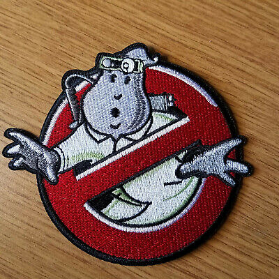 SPENGLER Memorial Ghostbusters No Ghost Patch  with male//HOOK backing