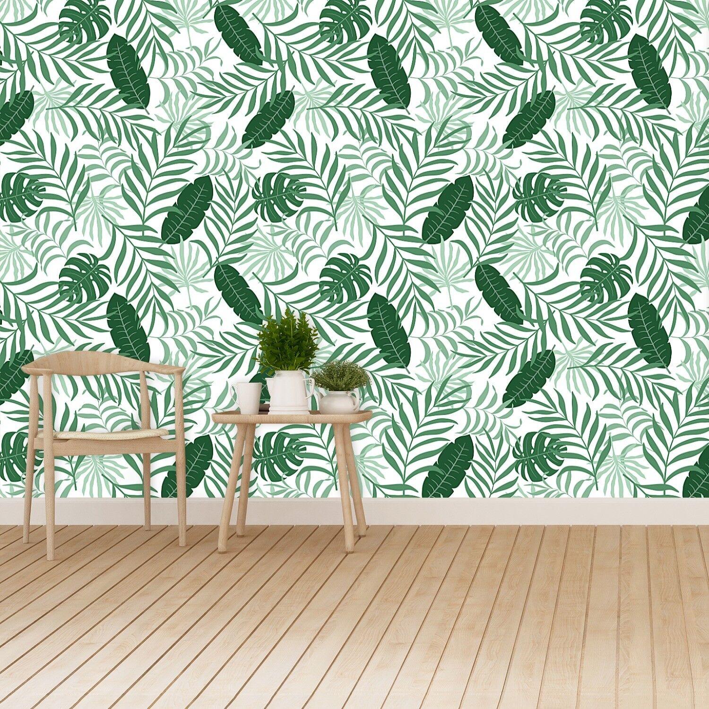 Fototapete Selbstklebend Einfach ablösbar Mehrfach klebbar Palmenblätter
