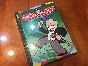 Image Is Loading Monopoly Bookshelf Game 2006 By Parker Brothers COMPLETE