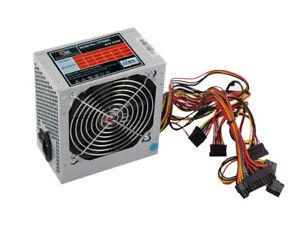 ALIMENTATORE PC ATX 500W per CASE PC, ITEK ITPS500 VENTOLA 12 cm.