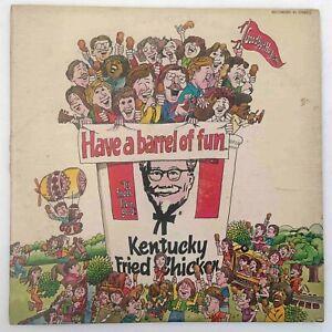 KFC Have A Barrel of Fun LP Vinyl Kentucky Fried Chicken Advertising Record 1974