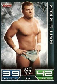 The Miz ECW Card Official WWE Slam Attax
