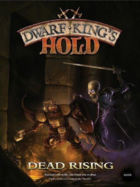 Dwarf King's Hold  Dead Rising - Mantic - New, Edition Italian + English
