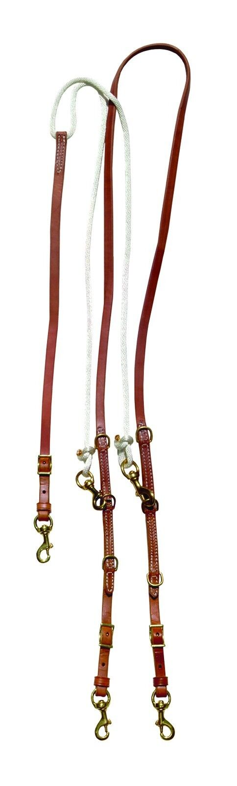 German Martingale with Barrel Style Reins Amish Made in Ohio H846