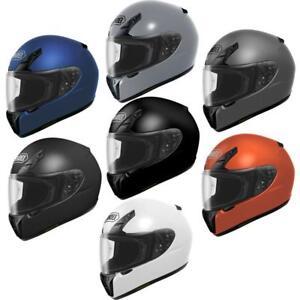 Motorcycle Helmet Brands >> Details About Shoei Rf Sr Full Face Snell Dot Motorcycle Track Street Helmet Brand New