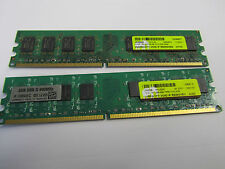 4GB (2x2GB) DDR2 PC2-6400 800 mhz Desktop RAM Memory DIMM
