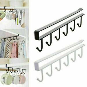 Organizer Cup Storage Rack Shelf Towel Paper Hanger Cabinet Under Kitchen Holder