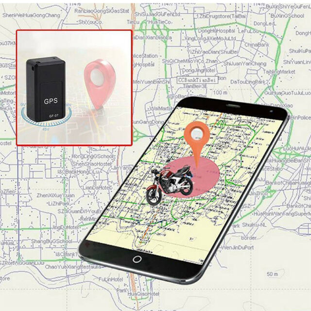 Gf07 Magnetic Mini GPS Real Time Car Locator Tracker Gsm/gprs Tracking  Device