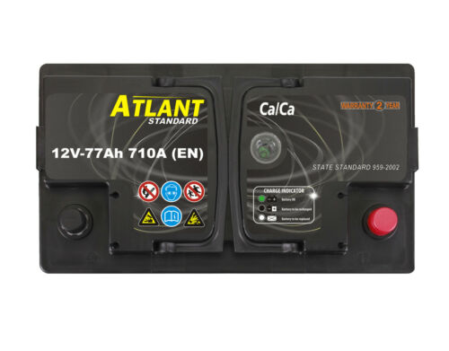 Starterbatterie 77Ah 12V 710A//EN ATLANT TOP ANGEBOT SOFORT /& NEU 77 Ah