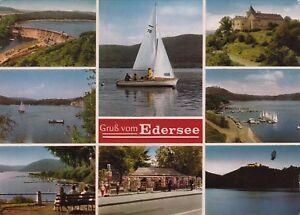 Gruß vom Edersee ,Ansichtskarte, gelaufen - Rostock, Deutschland - Gruß vom Edersee ,Ansichtskarte, gelaufen - Rostock, Deutschland