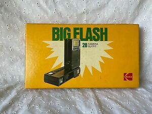Kodak Big Flash 28 Camera Ektron II Electronic Flash w/ Trimlite Instamatic 100;