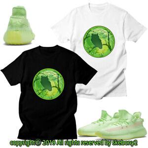 CUSTOM-T-SHIRT-MATCHING-STYLE-OF-adidas-YEEZY-Boost-350-v2-green-AD-Y-5-9