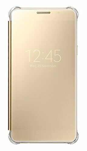 the latest 73505 738ad Genuine Official Samsung Galaxy A5 2016 A510 Gold Clear View Cover / Case