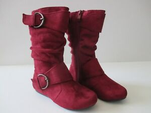 Link Girls Faux Suede Boots