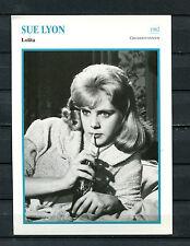 Starkarte Sue Lyon - Lolita  1962   (ST7)