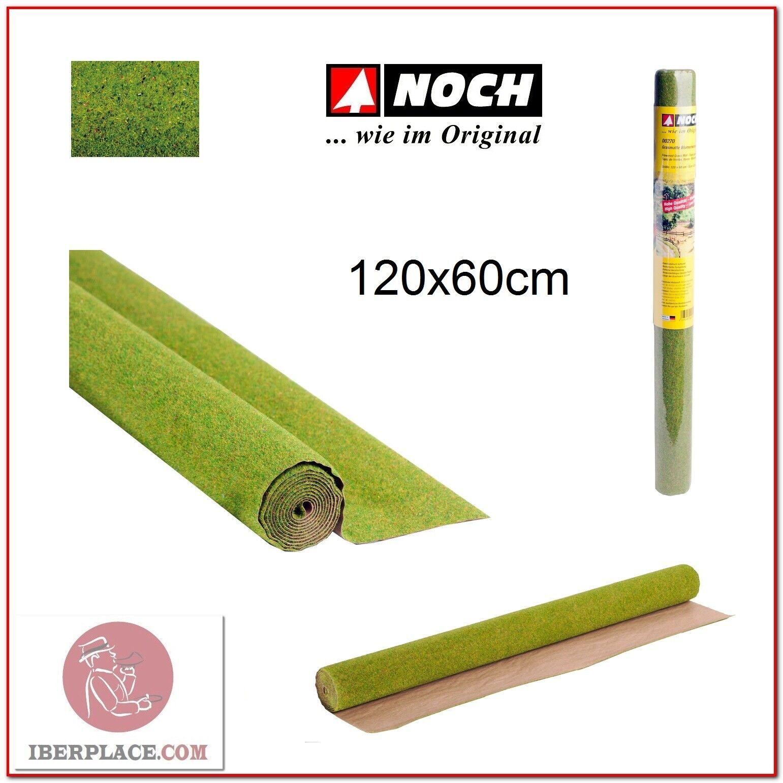 Z N H0 escala Noch 00270 Tapiz de hierba flores 120x60 cm...