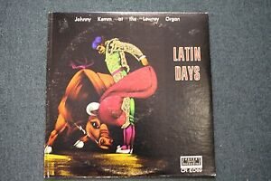 Latin-Days-Johnny-Kemm-AUTOGRAPHED-Concert-Recording-Lowrey-Organ-FAST-SHIPPING