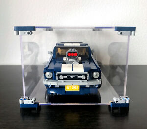 OLEGABOX 3mm Display Case for Lego Creator 10265 Ford Mustang