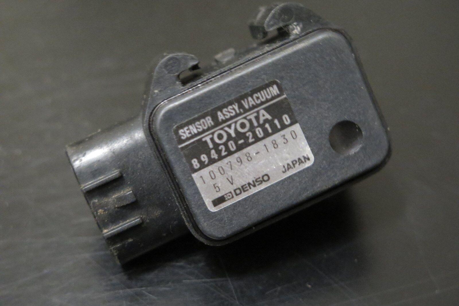 1990-93 Toyota Celica 1.6L MAP Sensor 89420-20110 OEM Manifold Absolute Pressure