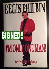 REGIS PHILBIN (TV Star) signed 1st edition book 1995 Hard Cover w/ Dust Jkt