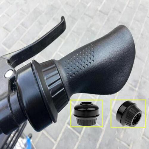 MTB Bicycle Bike Handlebar Bell Rotate Bell Ring Loud Horn Invisible Black