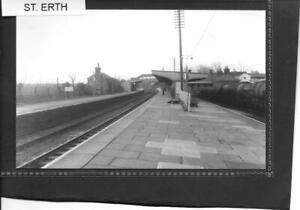 ST. ERTH RAILWAY STATION - CORNWALL - QUALITY PRINT IN SLEEVE -  # S1796