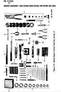 Pagina-227-GUERRA-MONDIALE-2-Hamilton-Elgin-Waltham-BULOVA-Orologio-Cronometro-Manuale-di