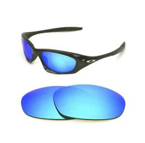 1972929c963 NEW POLARIZED CUSTOM ICE BLUE LENS FOR OAKLEY TWENTY SUNGLASSES