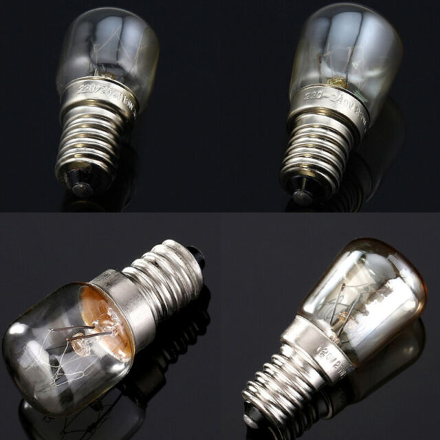 2x Fridge and other household appliances light bulbs lamps 15W 25W T22 E14 SES